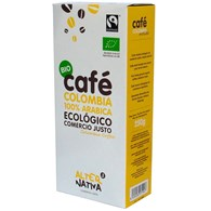 KAWA MIELONA ARABICA COLOMBIA FAIR TRADE BIO 250 g - ALTERNATIVA